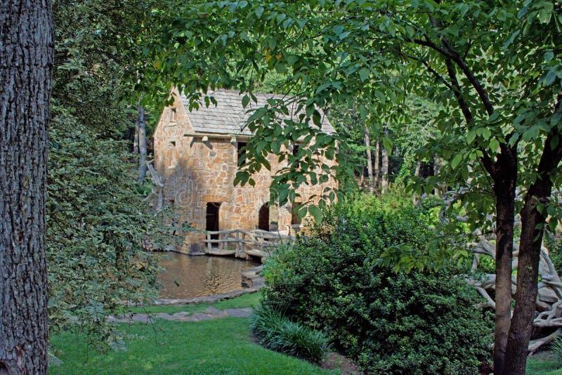 old mill obraz royalty free