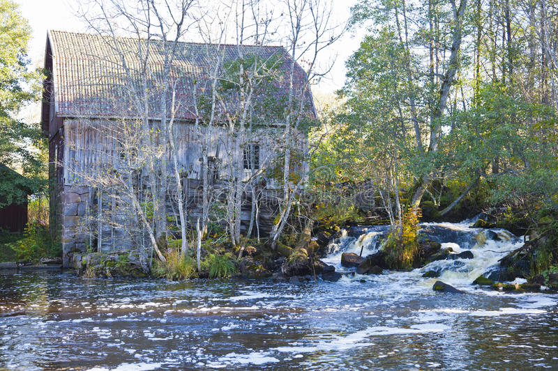 Download Old mill stock photo. Image of rivers, barn, forest, brook - 20893942