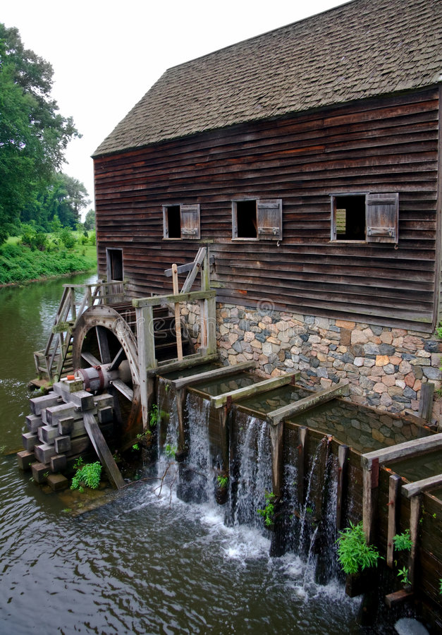 old mill obraz royalty free