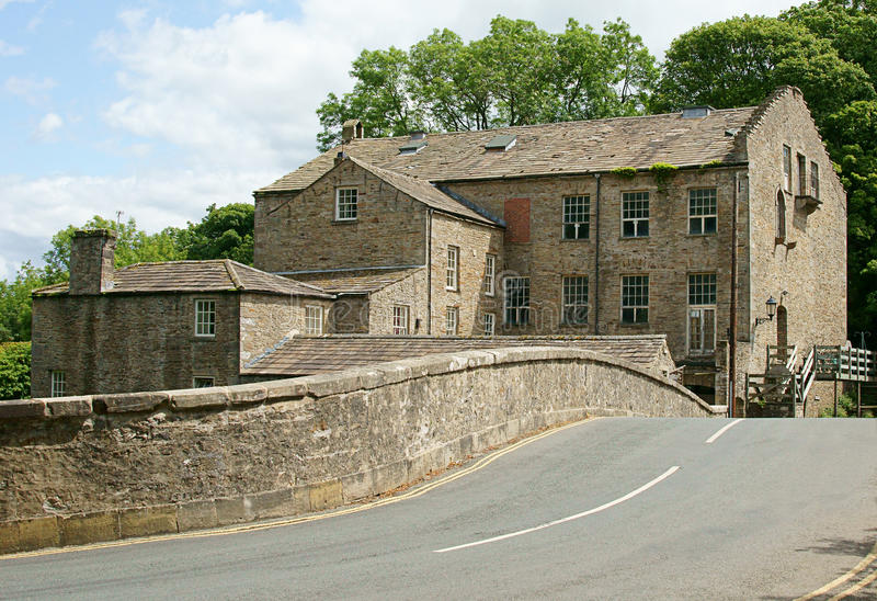 Download Old Mill On Country Road Stock Image - Image: 20368101