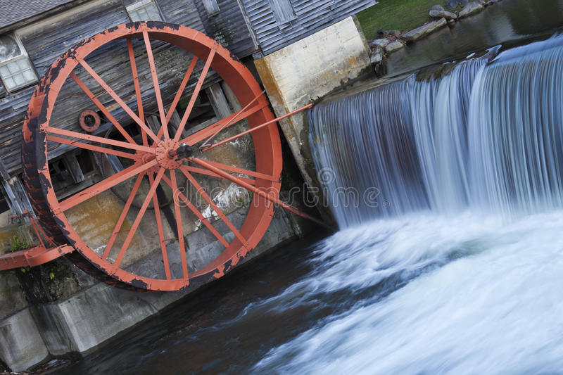 Old Mill in Pigeon Forge royalty free stock photo