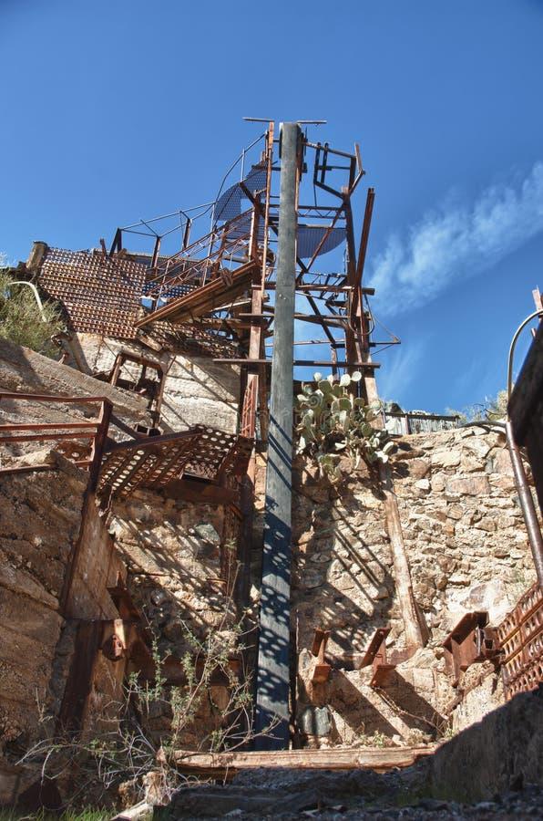 Download The old mine stock image. Image of desert, belt, pole - 37726511