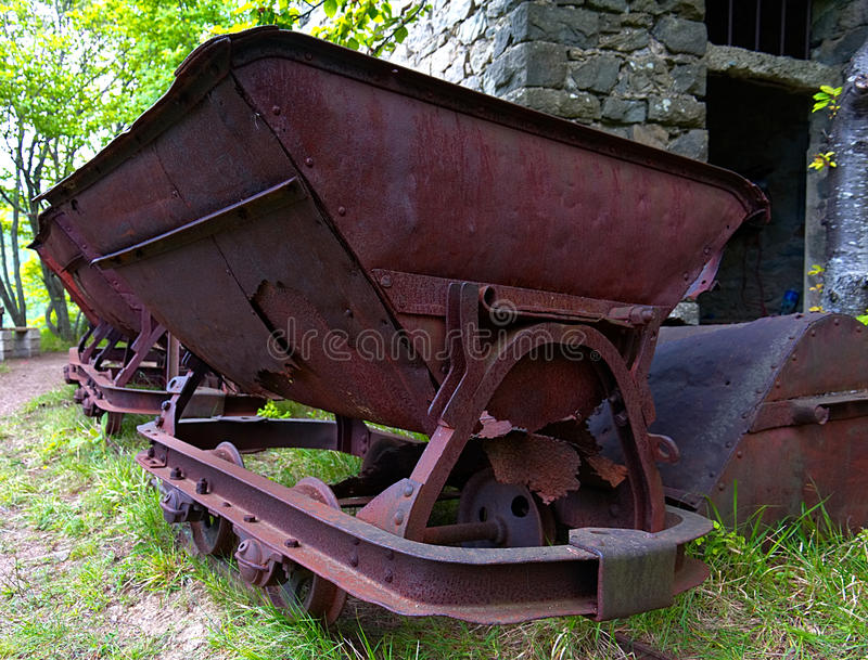 Old mine royalty free stock photography