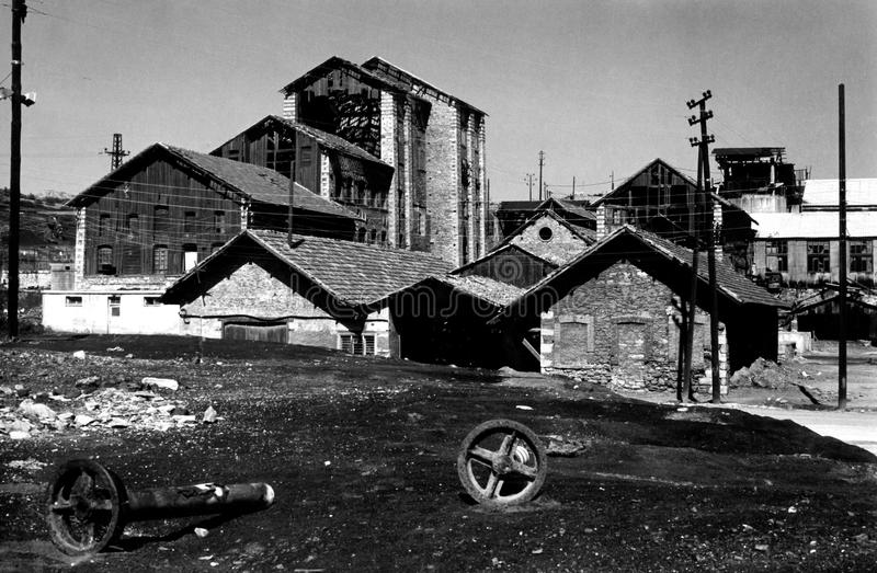 Download Old Mineralogical Factory In Lavrion, Greece Editorial Stock Photo - Image: 26512303