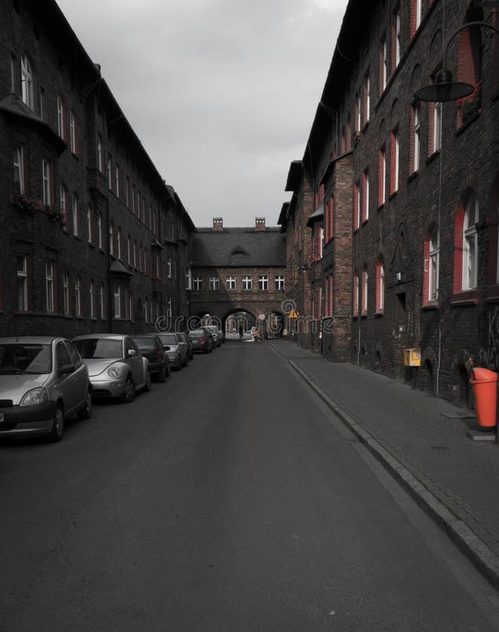 Old Mining district stock photos