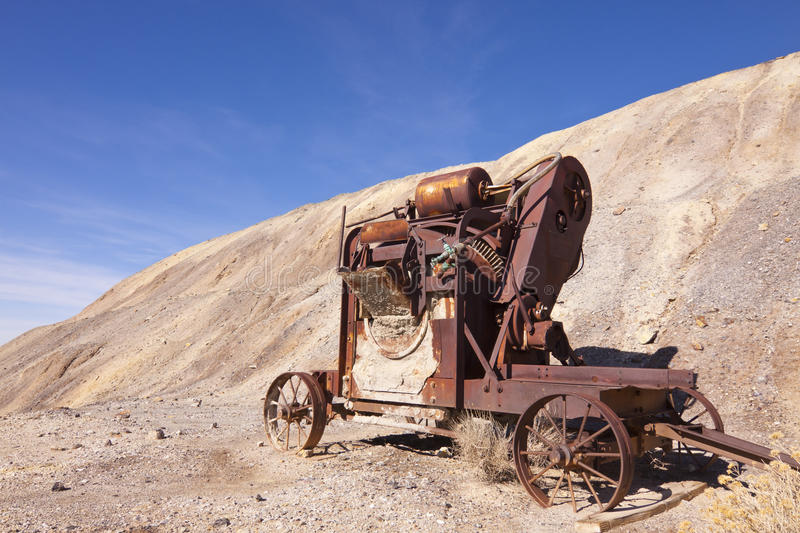 Download Old Mining Mixer stock photo. Image of oxidized, tailing - 23142158