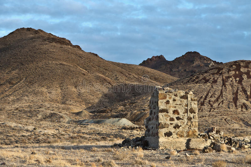 Download Old Mining Site In The Nevada Desert Stock Photo - Image: 27878010