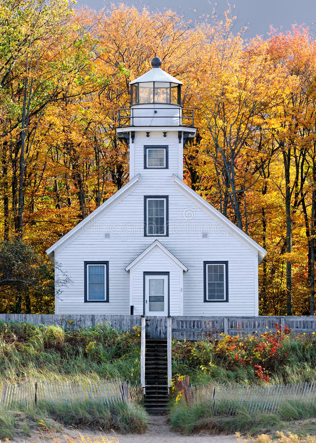 Free Old Mission Point Lighthouse Stock Images - 16635754