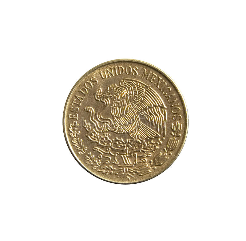Free Old Mixican 5 Centavos Royalty Free Stock Photos - 24399278