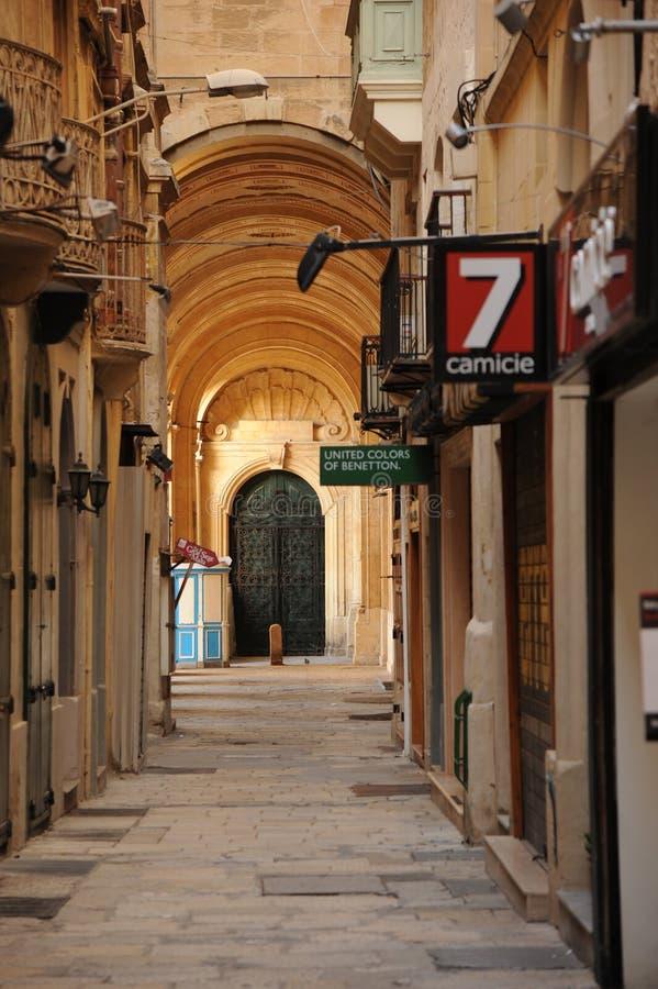 Valetta. Old and new. Malta stock photos