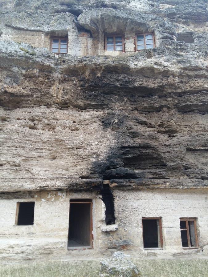 Old moldavian orthodox monastery royalty free stock image