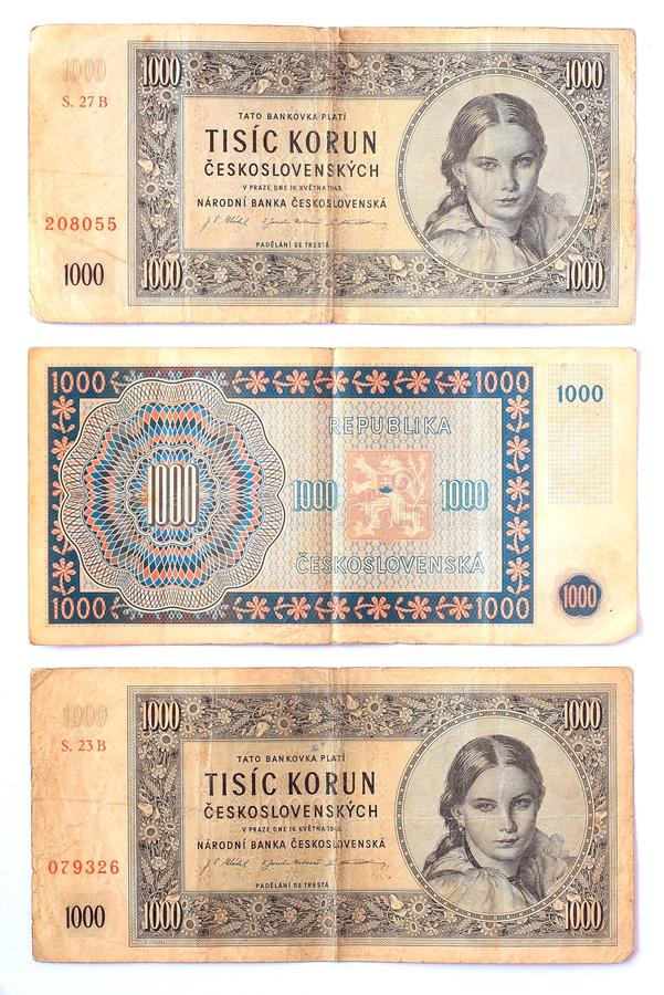 Download Old money stock photo. Image of czech, benefit, banknote - 23410544