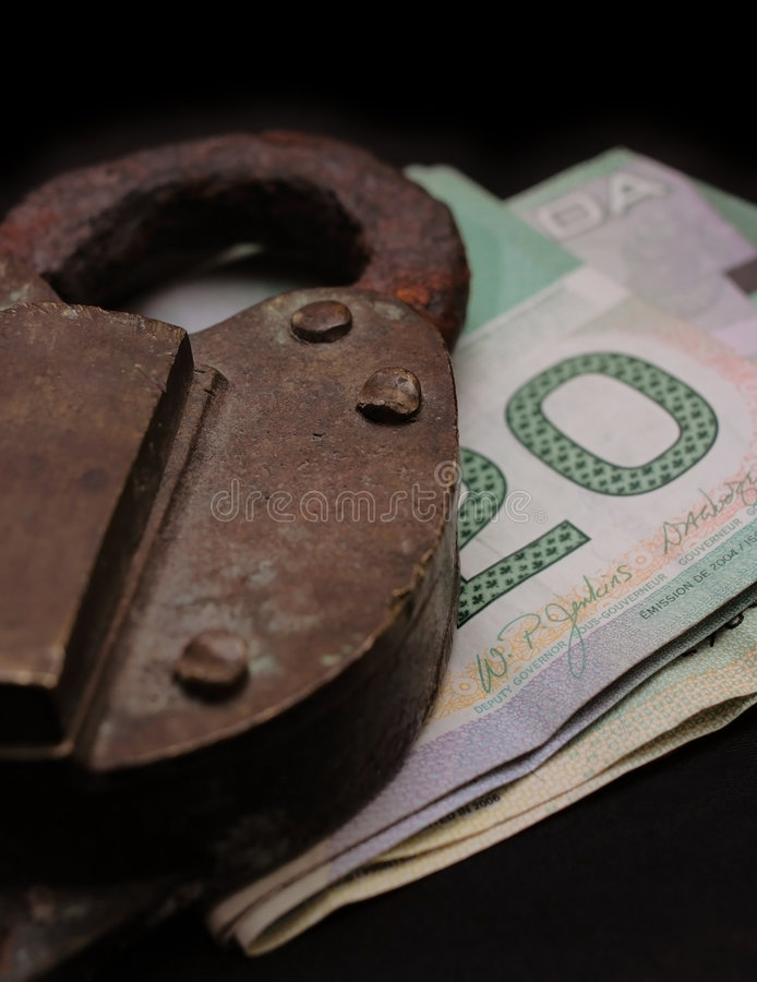 Old money royalty free stock photography