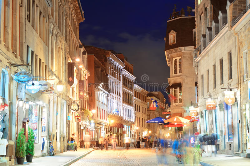 Old Montreal stock image