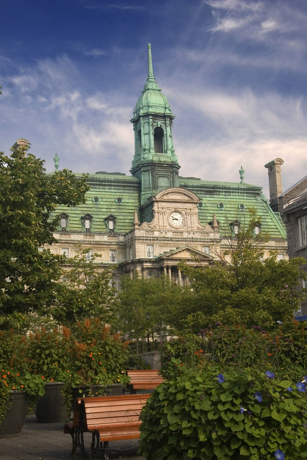Free Old Montreal In Summer Stock Images - 6212324