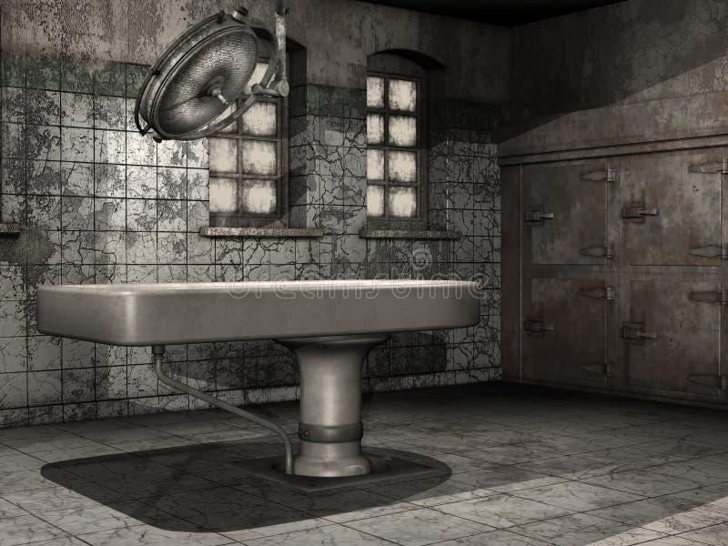 Download Old morgue table stock illustration. Image of background - 30738055