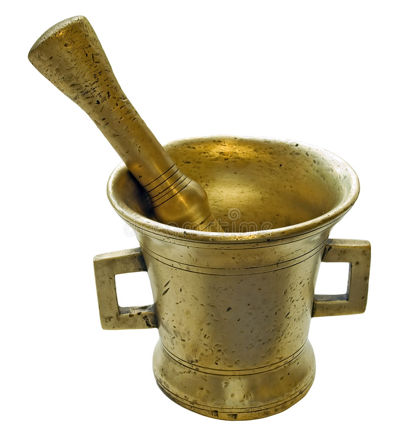 Free Old Mortar And Pestle Royalty Free Stock Photo - 5831825