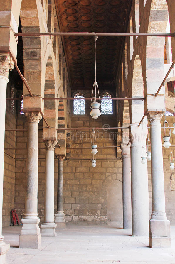 egypt cairo old mosque royalty free stock photo