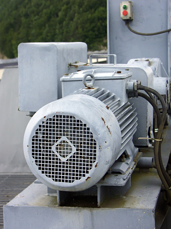 Download Old Motor Stock Image - Image: 206121