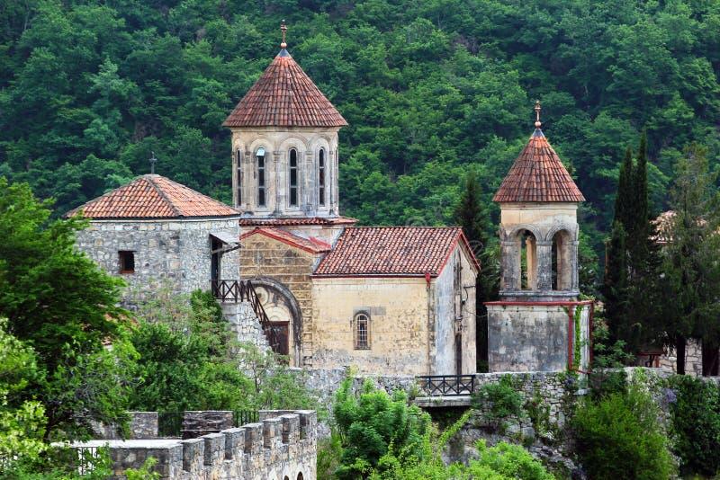 Old Motsameta monastery near Kutaisi, Georgia stock photo
