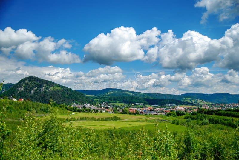 Old mountain village royalty free stock photo