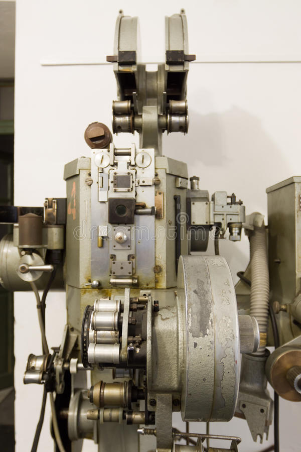 Download Old Movie Projector Royalty Free Stock Image - Image: 26543186