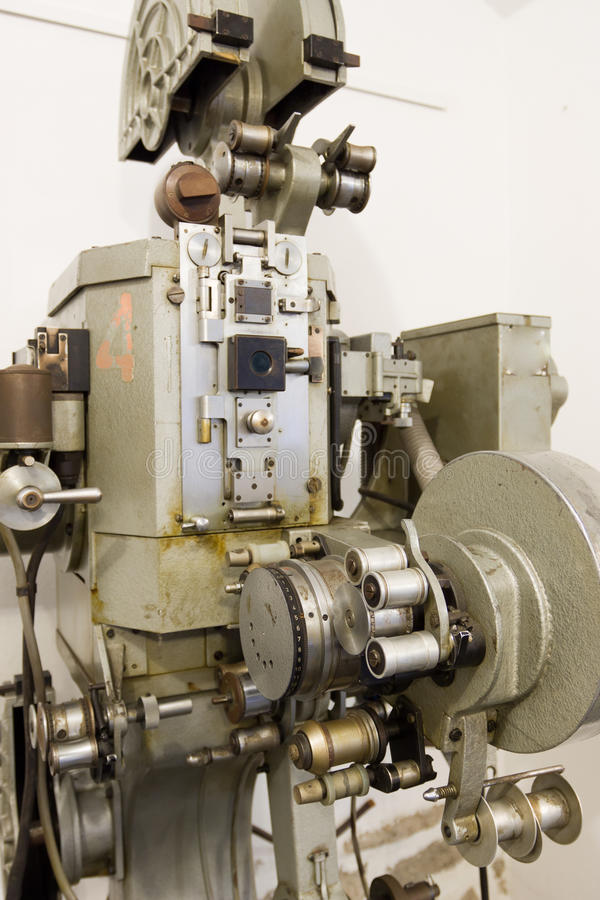Download Old movie projector stock image. Image of trigger, detail - 26543191