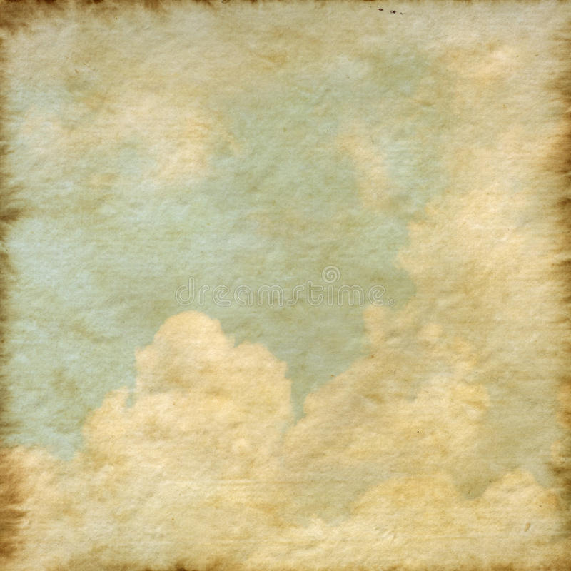 Old Mulberry paper texture background stock illustration