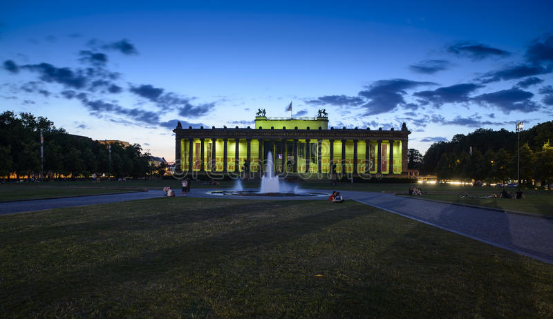 The old museum berlin germany europe stock photo