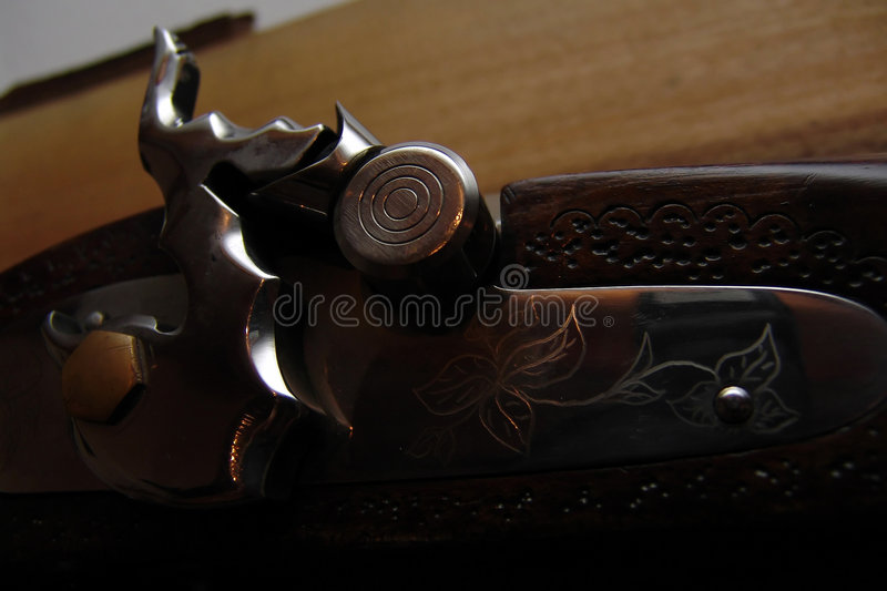 Old musket stock photo