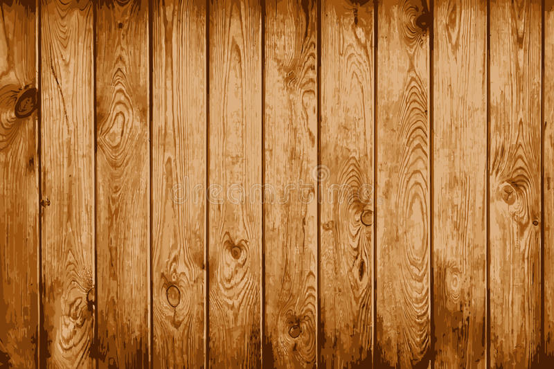 Old natural wooden shabby vector background. EPS8 royalty free illustration