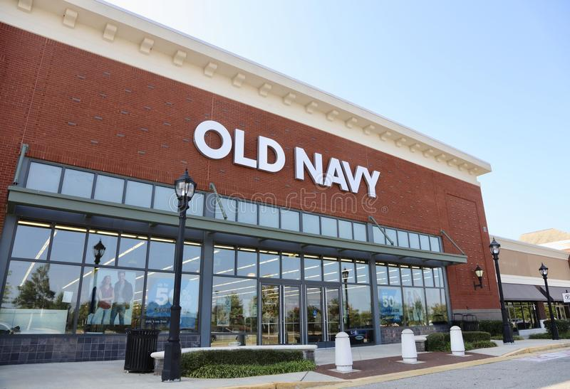 Old Navy Clothing Store stock photo
