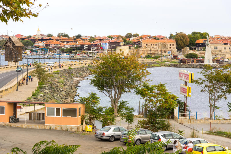Old Nessebar in Bulgaria royalty free stock photos
