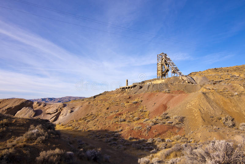 Download Old Nevada Quicksilver Mine Stock Photo - Image: 23536752