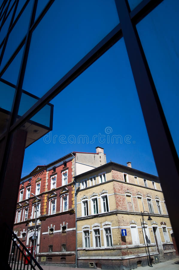 Old and new architecture stock images