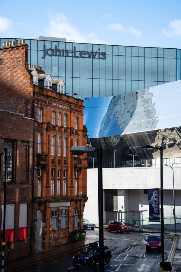 Old and New Birmingham stock photos
