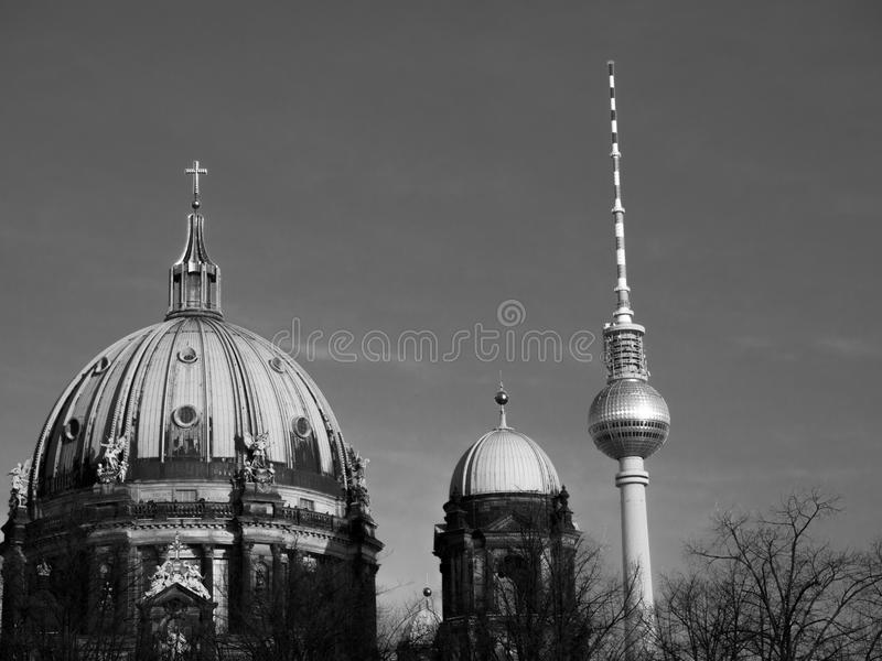 Old and New Domes stock photos