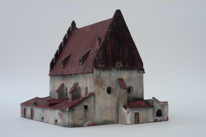 Old-New Synagogue, Prague royalty free stock image