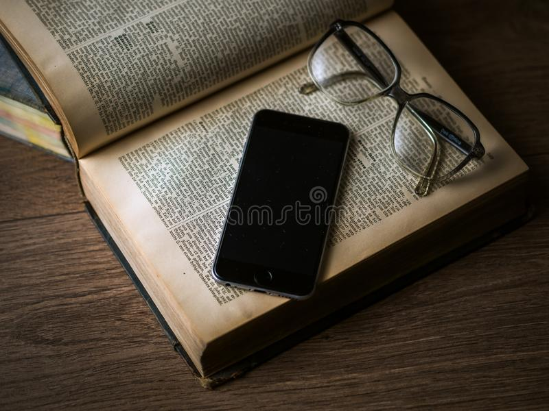 Old New Technology royalty free stock image