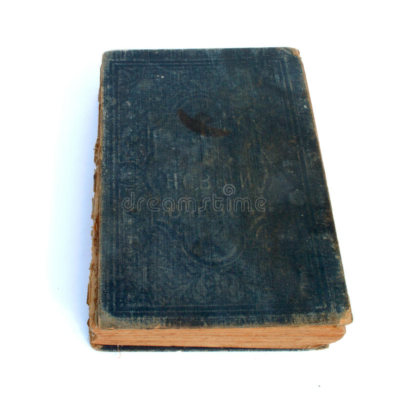 Old new testament. Isolated on white background stock photos