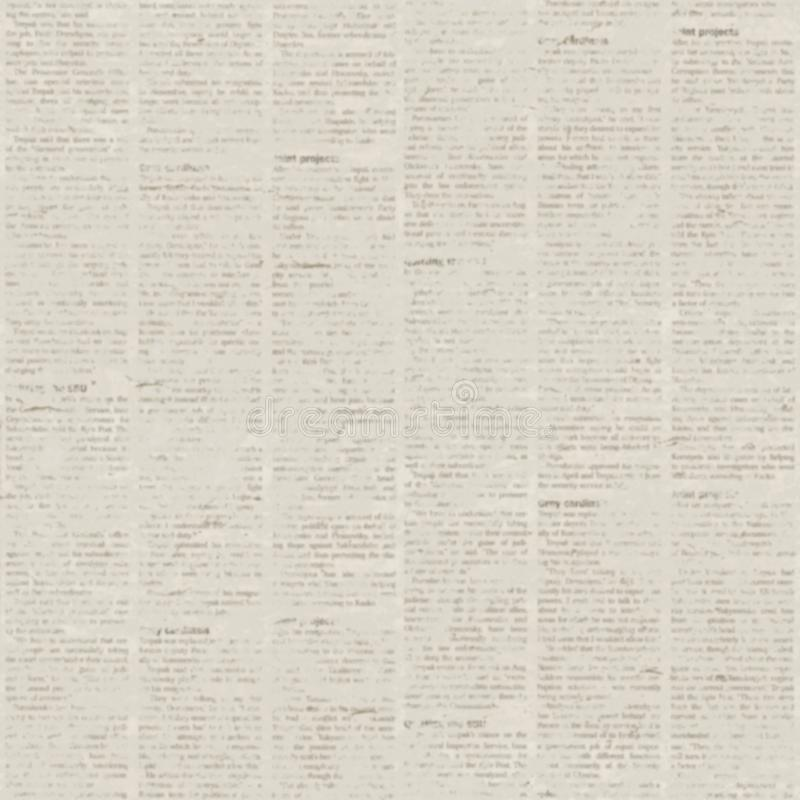 Download Old Newspaper Texture Background Stock Illustration