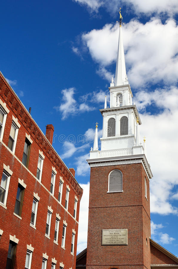 Free Old North Church Boston Royalty Free Stock Photos - 24285368