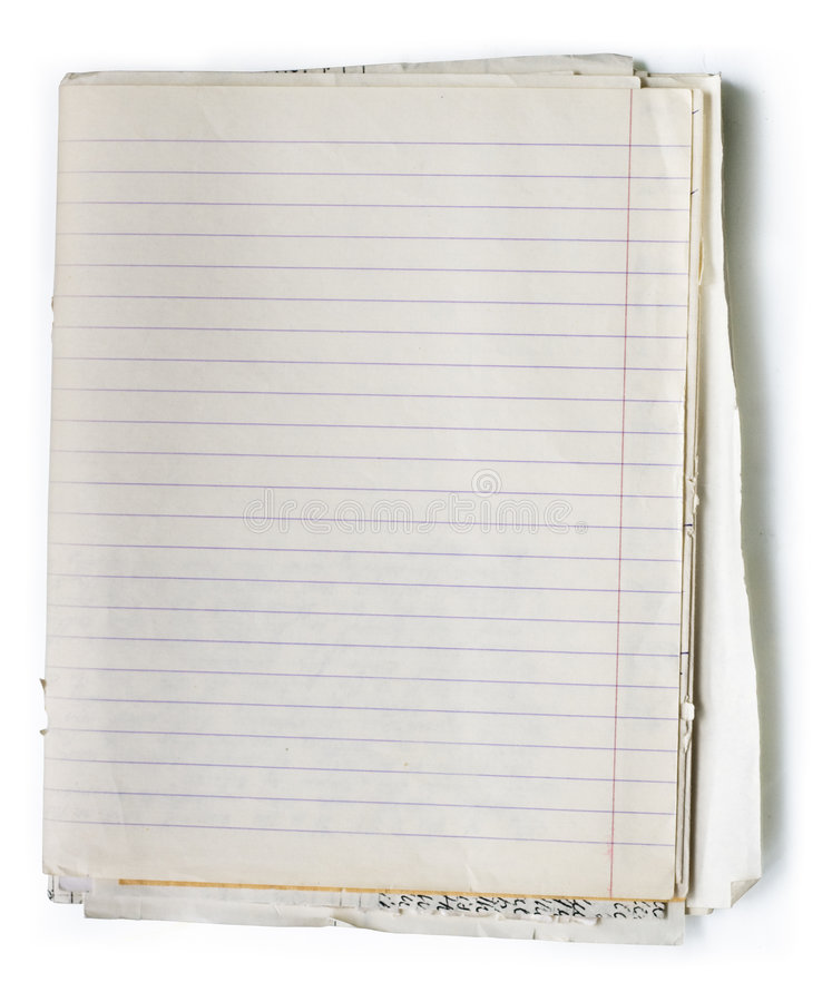 Free Old Note Book Stock Photos - 6129923