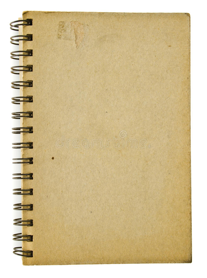 Old Notebook Stock Images