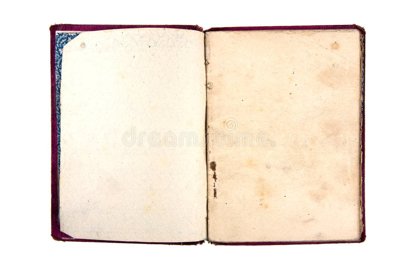Old notebook royalty free stock image