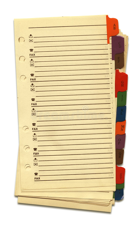 Download Old Notebook's Pages stock image. Image of empty, diary - 1740391