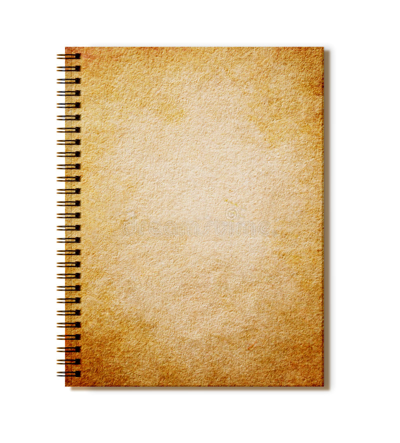 Free Old Notepad Royalty Free Stock Photo - 8668645