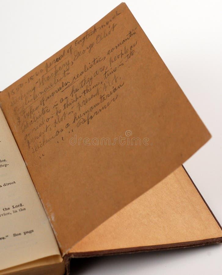 Old Notes stock photos