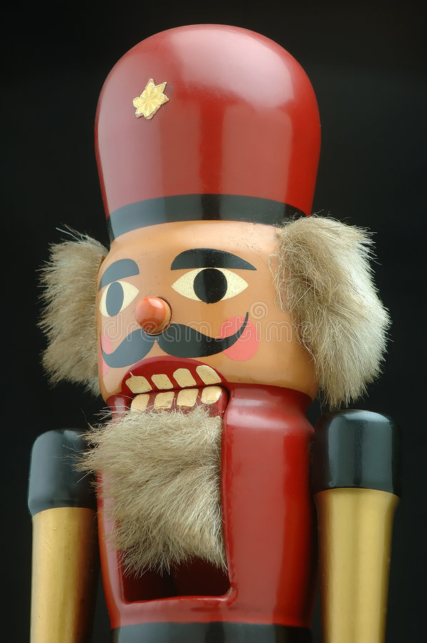 Old Nutcracker royalty free stock images