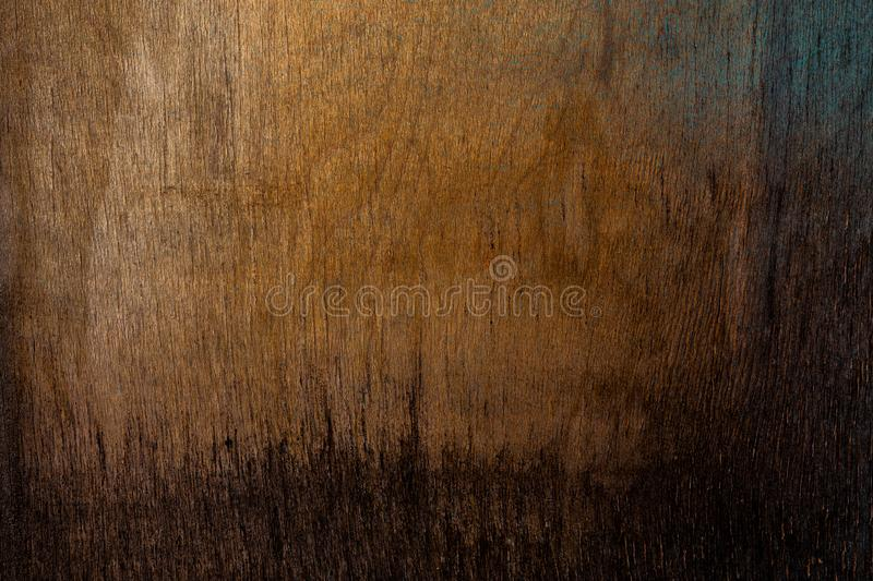 Old obsolete plywood sheet closeup surface texture.  royalty free stock photos